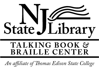 Logo of the NJ State Library Talking Book & Braille Center