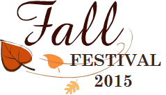 TBBC Fall Festival 2015 Logo with falling leaves