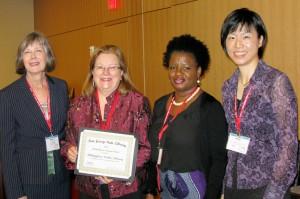 Mary Chute, Christine Hill, Paulette Williams, Mimi Lee
