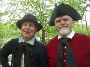 Presenters Stacy Roth and Bob Dupre of History on the Hoof