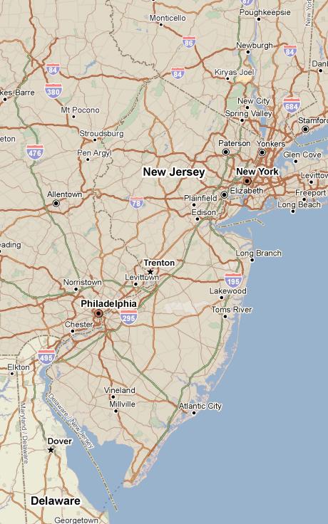 PolicyMap - NJ outline