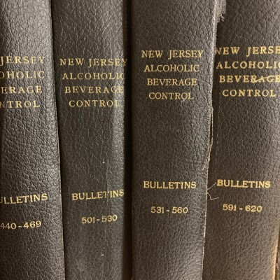 New Jersey Alcoholic Beverage Control Bulletins