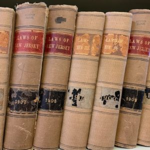 old copies of NJ laws
