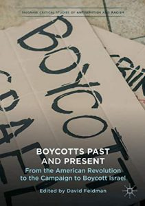 Cover image of the book Boycotts Past and Present